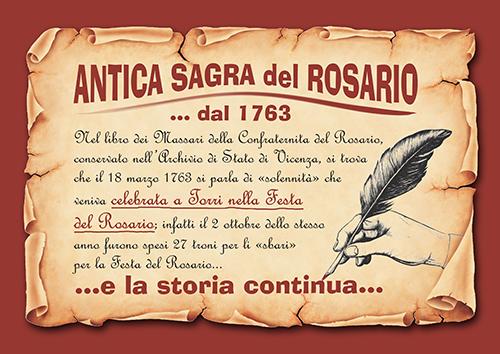 storia antica sagra del rosario