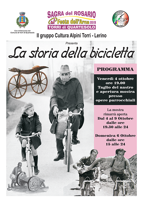 mostra biciclette torri di quartesolo